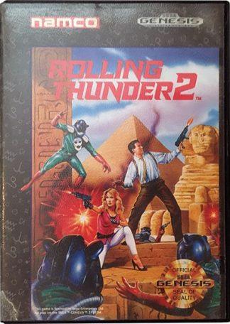 Rolling Thunder 2 Sega Mega Drive
