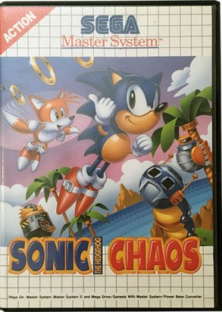 Sonic the Hedgehog Chaos Sega Master System