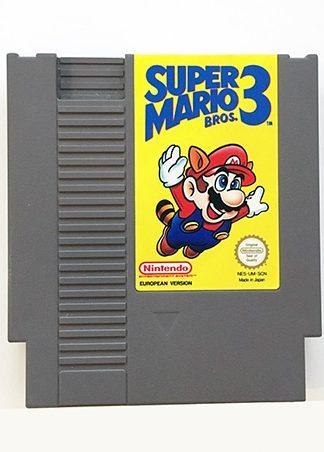 Super Mario Bros. 3 NES SCN