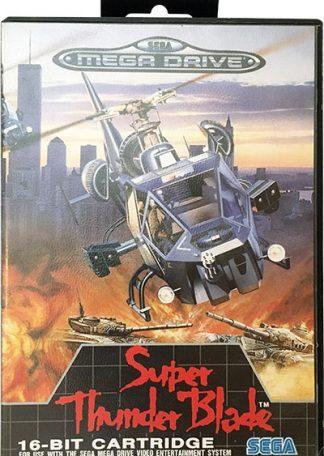 Super Thunder Blade Sega Mega Drive