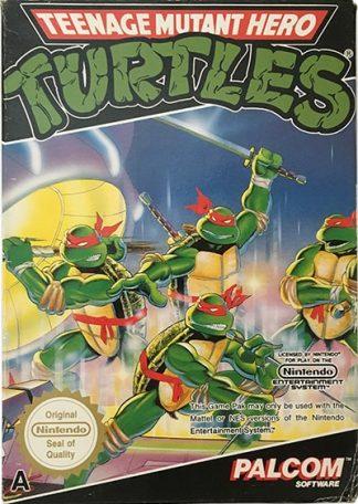 Teenage Mutant Hero Turtles NES