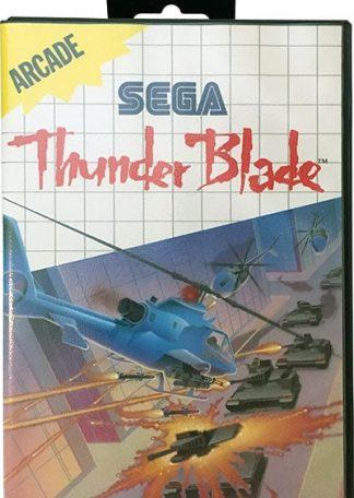 Thunder Blade Sega Master System