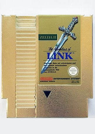 Zelda II The Adventures of Link NES-AL-FRG