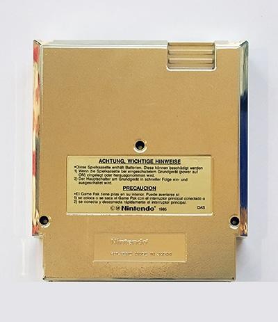 Zelda II The Adventures of Link NES-AL-FRG bagside