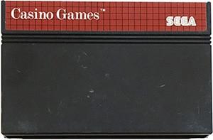 Casino Games Sega Master System