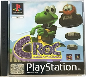 Croc Legend of the Gobbos black label PS1