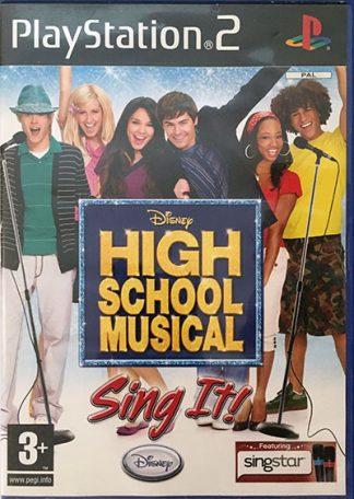 Disney High School Musical Sing It! PS2