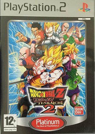 Dragon Ball Z Budokai Tenkaichi 2 Platinum PS2