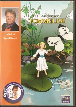 H.C. Andersens Tommelise - Lyt og Læs (bog+cd) (Ny)