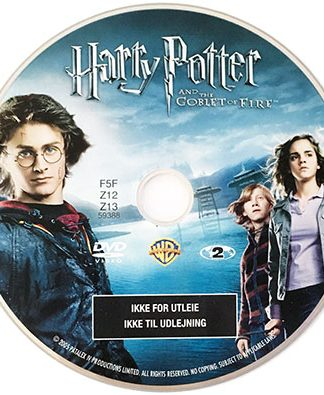 Harry Potter og Flammernes Pokal Dvd