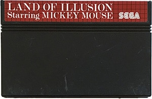 Land of Illusion Sega Master System