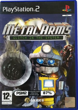 Metal Arms Glitch in the system PS2