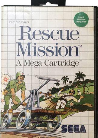 Rescue Mission Sega Master System