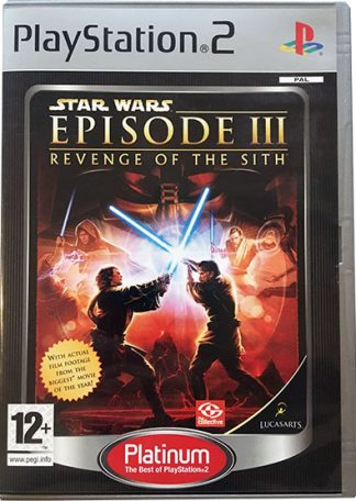 Star Wars Episode III Revenge of the Sith Platinum PS2