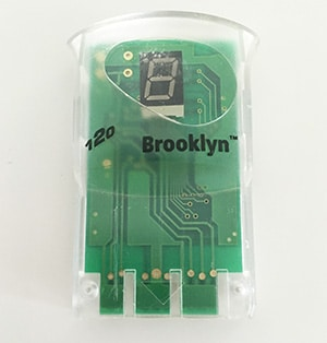 8 MB Memory Card med LED Display