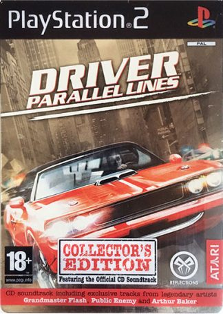 Driver Parallel Lines (Collector's edition) PS2