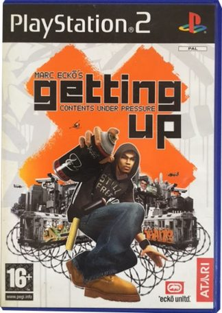 Marc Ecko's Getting up PS2
