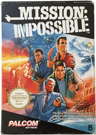 Mission Impossible (SCN) (CIB) NES