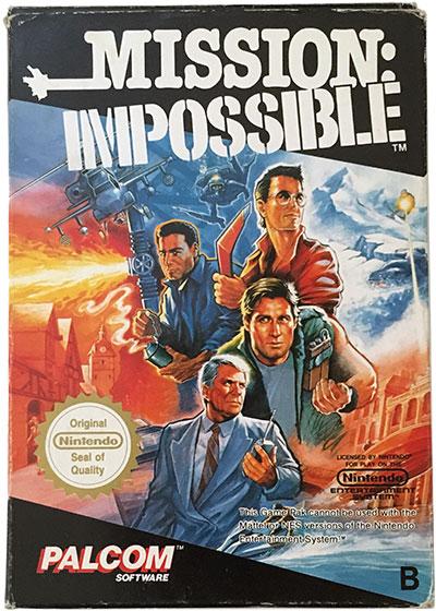 Mission Impossible (SCN) (CIB) NES
