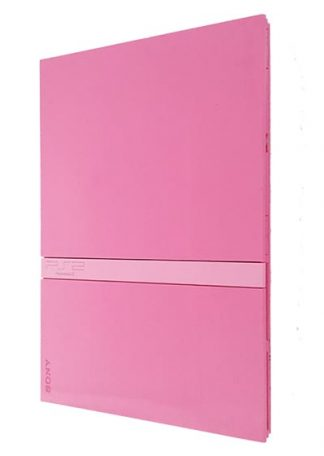 Playstation 2 konsol Pink