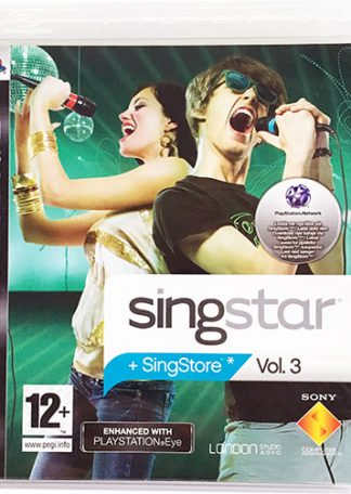 SingStar Vol. 3 PS3