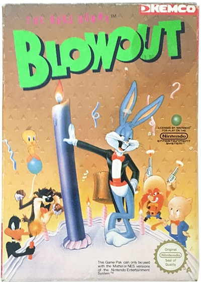 The Bugs Bunny Blowout (CIB) NES