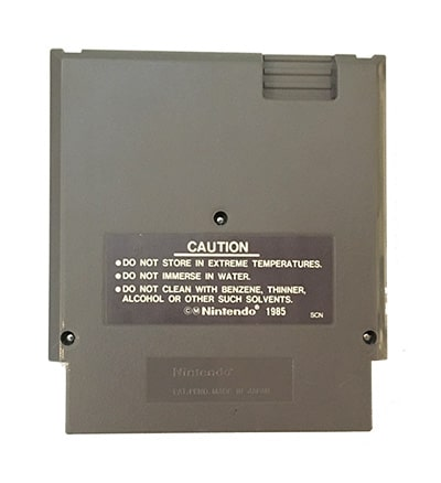 Total Recall NES SCN bagside