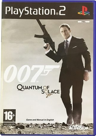 007 Quantum Of Solace PS2