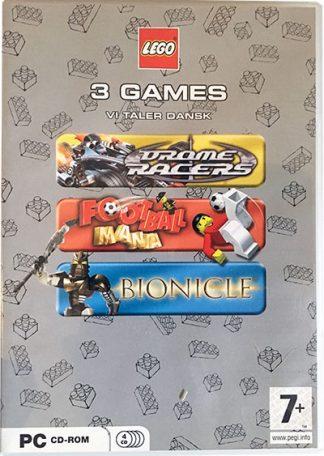 3 LEGO spil til PC
