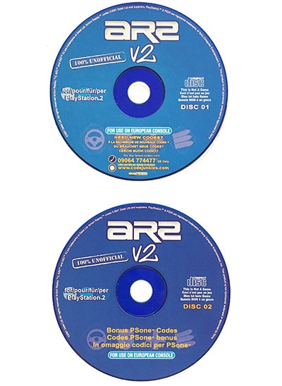 Action Replay 2 v2 PS2