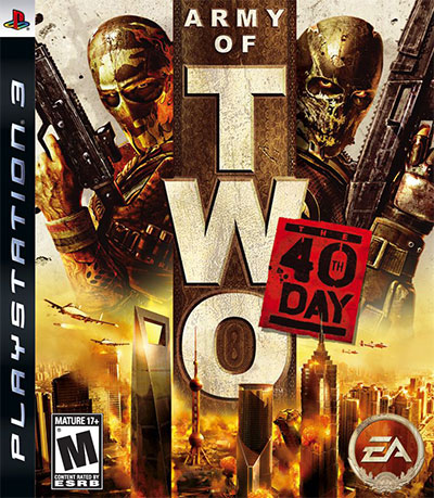 Army of Two the 40th Day (R1) (u. man) PS3