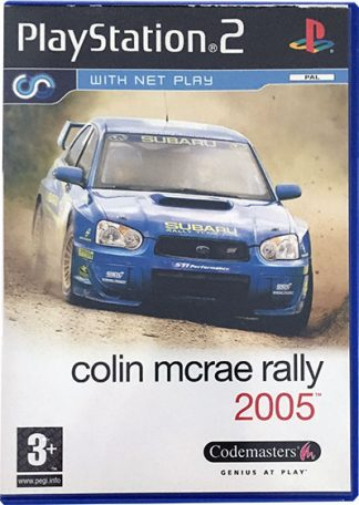 Colin McRae Rally 2005 PS2