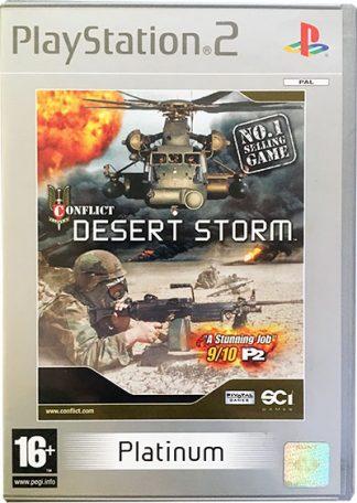 Conflict Desert Storm PS2 platinum