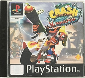 Crash Bandicoot 3 Warped PS1