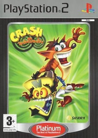 Crash Twinsanity platinum PS2