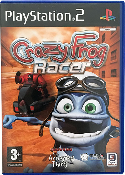 Crazy Frog Racer PS2