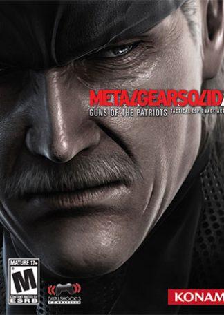 Metal Gear Solid 4 (R1) PS3
