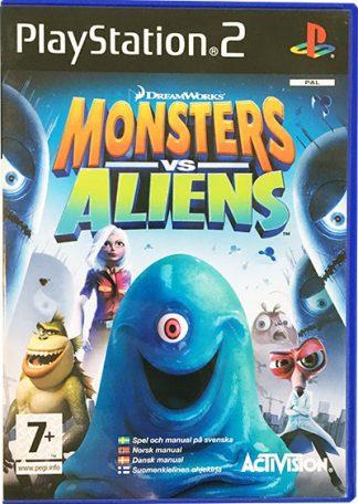 Monsters vs. Aliens PS2