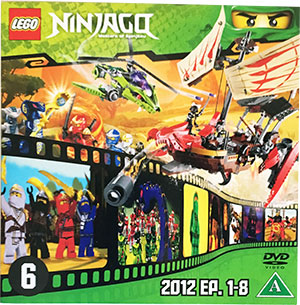 Ninjago Masters of Spinjitzu DVD