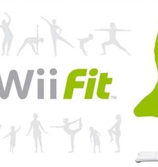 Wii Fit bræt inkl. Wii Fit spil