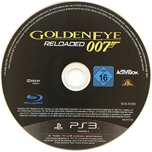 007 Golden Eye Reloaded (disc) PS3