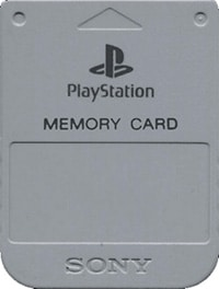 1MB Sony PS1 Memory Card