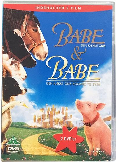 babe den kække gris dansk tale