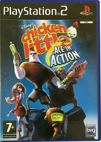 Disney's Chicken Little Ace in Action PS2
