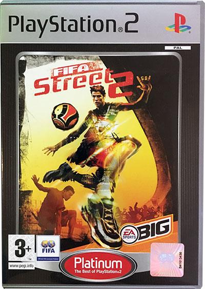 FIFA Street 2 PS2 platinum