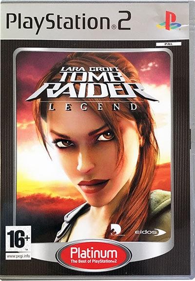 Lara Croft Tomb Raider Legend PS2 Platinum