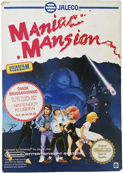 Maniac Mansion NES