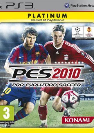 Pro Evolution Soccer 2010 platinum PS3