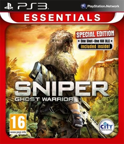Sniper Ghost Warrior (Essentials) PS3