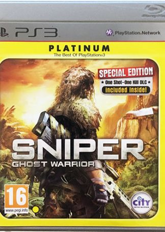 Sniper Ghost Warrior PS3 platinum